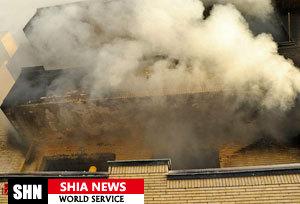 خوابگاه دانشجویی در آتش سوخت