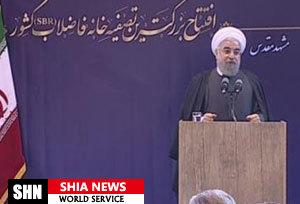 بهره برداری از بزرگترین تصفیه خانه فاضلاب کشور در مشهد