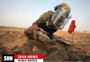گروه مین یاب روسیه وارد سوریه شد