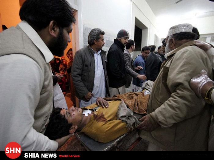 تصویر / مجروحان حمله تروریستی به ایستگاه راه آهن کویته  پاکستان