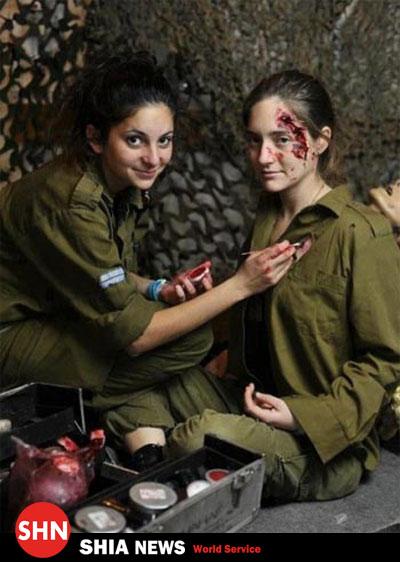 34482 498 مظلوم نمایی زنان ارتش اسرائیل+ تصویر