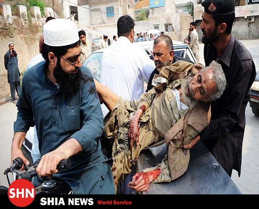 حمله به مسجد پیشاور در  پاکستان  + تصویر
