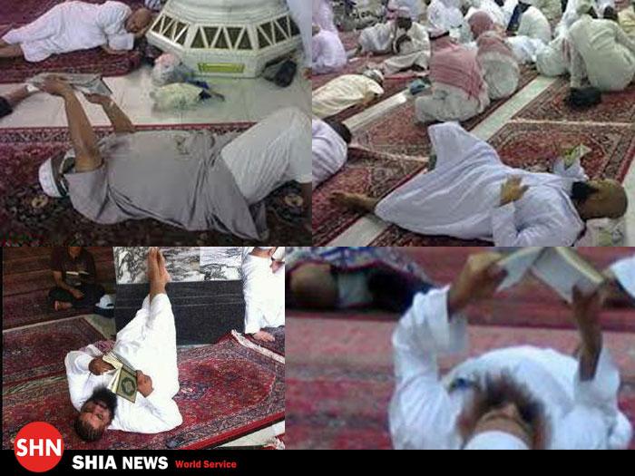 تلاوت قرآن به سبک وهابیت !!! عکس داغ