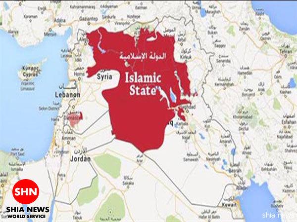 انتشار جدیدترین نقشه قلمرو ادعایی داعش + تصویر