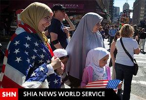 ابتکار زن مسیحی در دفاع از حق حجاب بانوان مسلمان
