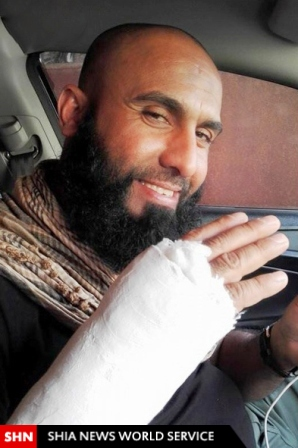 ابو عزرائیل به دنبال داعش +تصاویر