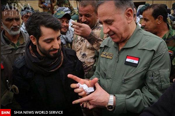 دستبند «یاحسین» برای وزیر اهل سنت عراق+تصویر
