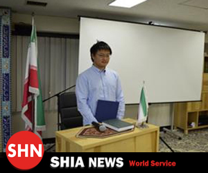 تشرف دانشجوی ژاپنی به مذهب حقه تشیع در شب لیله الرغائب