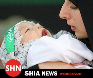 مادران، شیرخوارگان حسینی خود را نذر قیام امام زمان (عجل الله تعالی فرجه) کردند