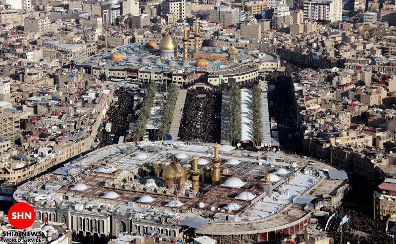 تصویر/ صلی الله علیک یا ابا عبدالله الحسین علیه السلام