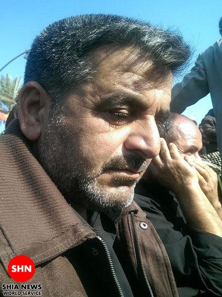 زائری که داعش،۲پسرش را ذبح کرد+عکس