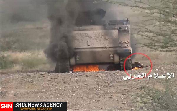 گلولهباران  عسیر عربستان توسط ارتش یمن