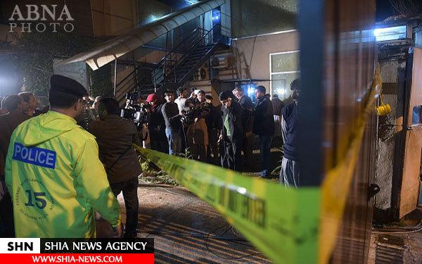 حمله داعش به دفتر شبکه تلویزیونی در اسلام آباد