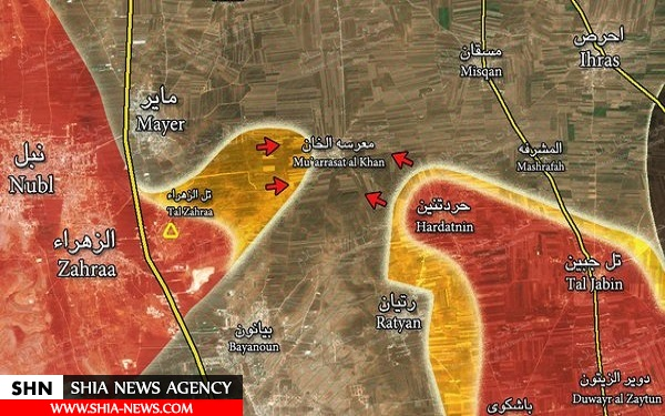 پیروزی بزرگ مقاومت در سوریه رقم خورد