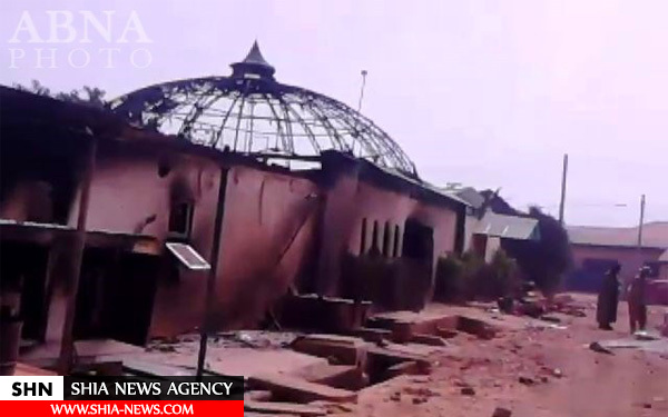 اجسادسوخته شیعیان نیجریه در حمله به حسینیه بقیه الله + تصاویر