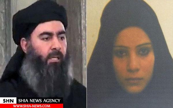 خواهرزن البغدادی در زندان کردستان عراق+ تصویر