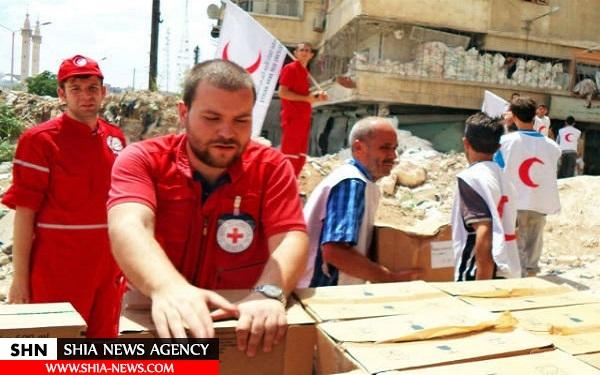 صلیب سرخ این بار به کجا کمک رسانی کرد