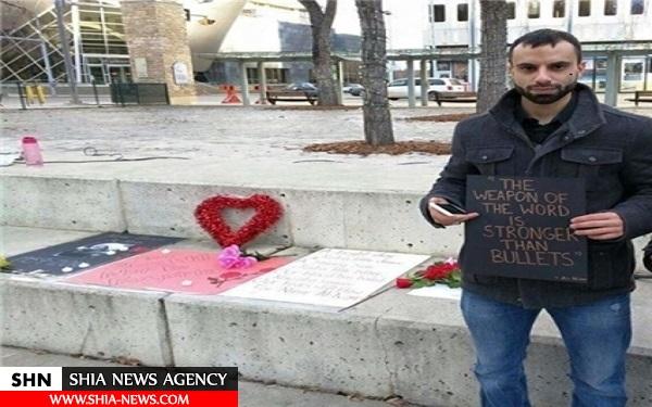 مزار نمادین شیخ نمر در کانادا +تصاویر