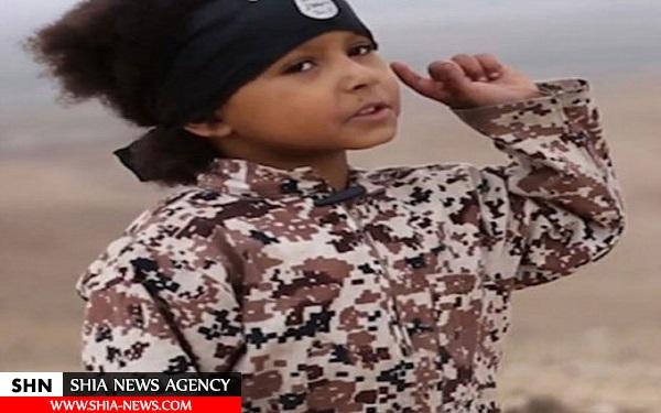 جلاد 4 ساله داعش انگلیسی است! + تصاویر