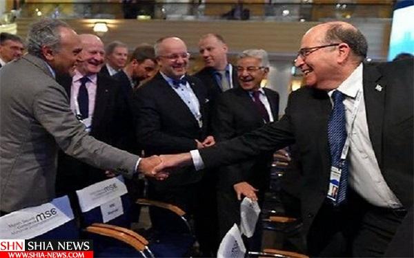 اولین مصافحه علنی اسرائیل و عربستان+تصویر
