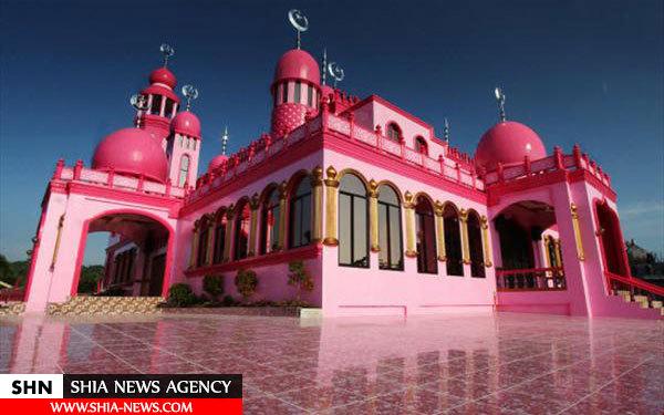 مسجدی به رنگ صورتی+ تصاویر