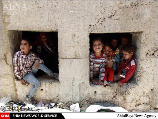 پناه بردن خانوادههای یمنی به تونلهای زیرزمینی