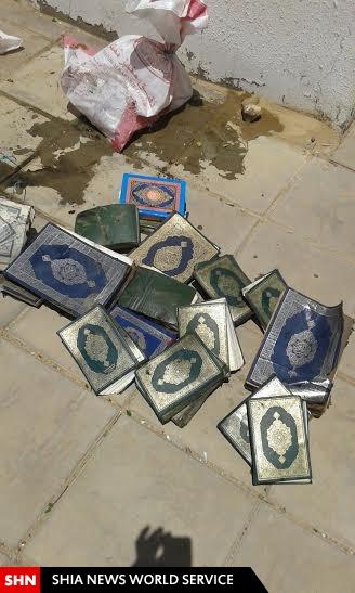 توهین به قرآن کریم در عربستان با ریختن آن در فاضلاب+تصاویر