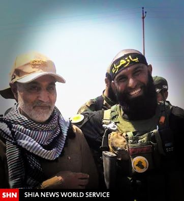 Image result for سردار قاسم سلیمانی و داعش