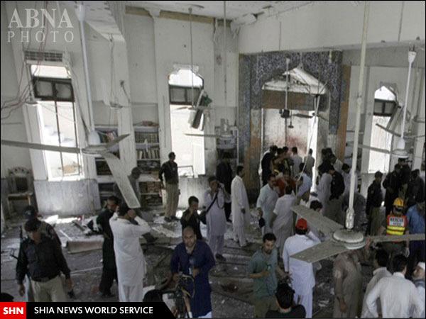 امام جماعت یک مسجد در  پاکستان  خود را منفجر کرد! + تصویر