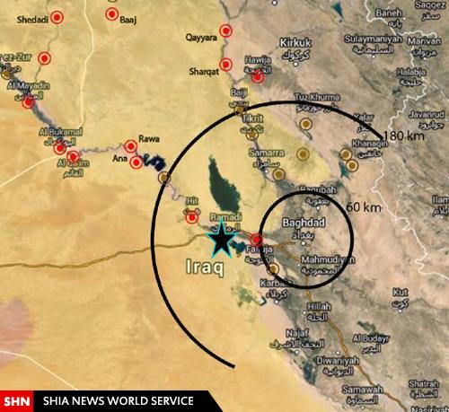 روایت نقشهها از جنگ با داعش در عراق