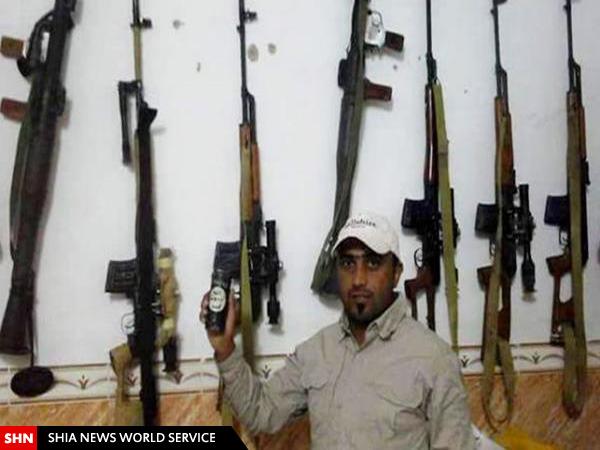 دستگیری تک تیرانداز سعودی داعش در عراق / تصاویر