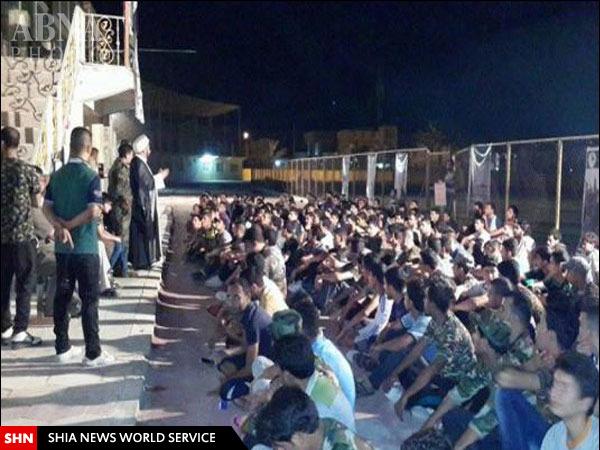 تشکیل گردان امام حسن(ع) از بین دانشجویان عراق + تصاویر