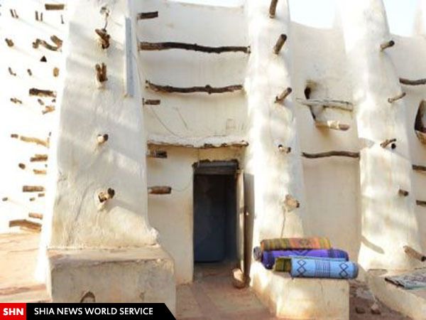 مسجدی شبیه کیک شکری در غرب آفریقا+تصاویر