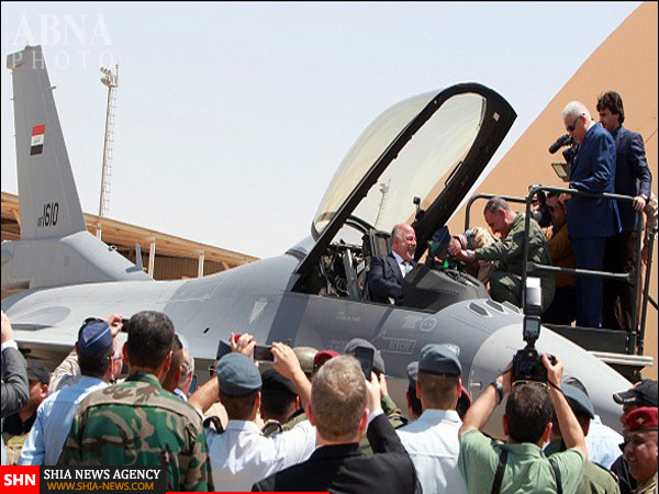نخست وزیر عراق سوار F16 شد + تصاویر