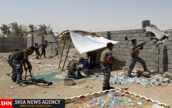 تصاویر مبارزه با داعش در الرمادی