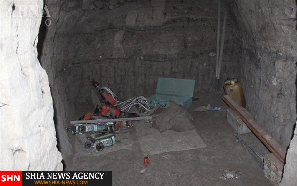 کشف تونلهای رفت و آمد عناصر داعش به ترکیه + تصاویر
