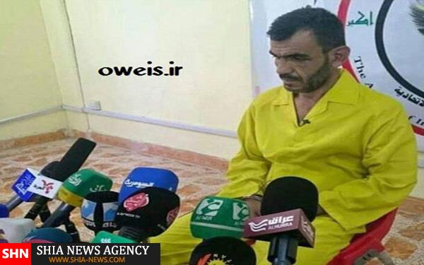 جلاد داعش کفش خور شد+ تصاویر