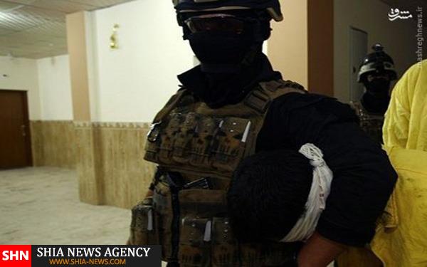 تصاویر بازداشت چند داعشی در نجف