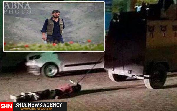 پلیس ترکیه یک کُرد را کُشت و جسدش را در شهر چرخاند +