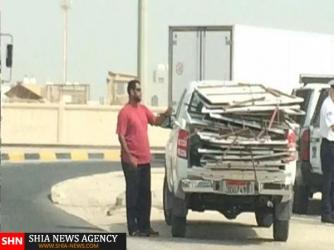تعرض به نمادهای عاشورایی در بحرین+واکنشها و تصاویر