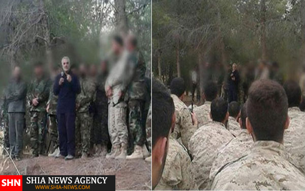 سردار سلیمانی هماکنون در سوریه است+ تصاویر