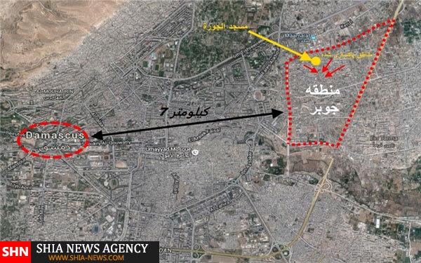 آغاز عملیات حزبالله و ارتش سوریه در جوبر
