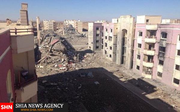 تصاویر آزادی مناطقی در غرب الرمادی