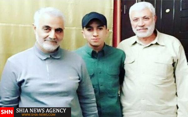 جدیدترین عکس سردار سلیمانی در عراق