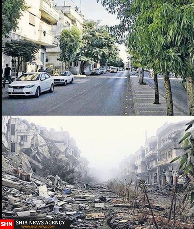 عکس کشور سوریه قبل از جنگ