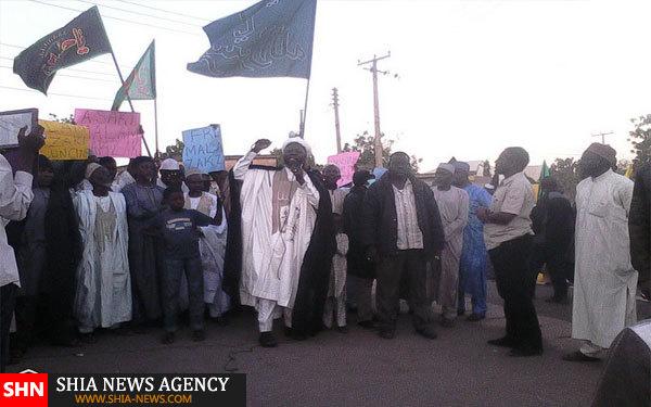 تظاهرات در شهرهای نیجریه ادامه دارد+ تصاویر