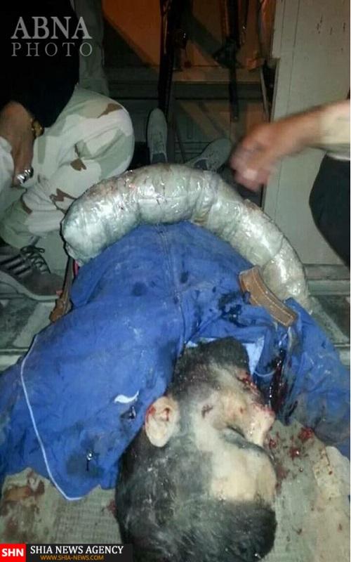 هلاکت یک عامل انتحاری پیش از منفجر شدن در میان زائران حسینی