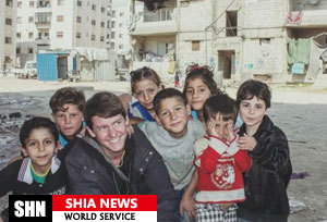 روایت خبرنگار جنگی ضدجنگ از کودکان سوریه