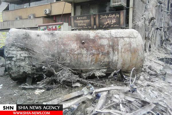 تصویر مخزن گازوئیلی که پلاسکو را منفجر کرد