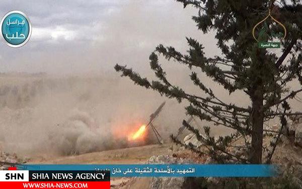 تصاویر درگیریها در منطقه خان طومان منتشر شد
